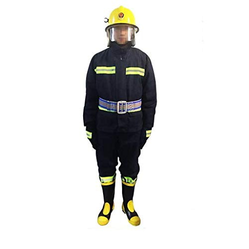 Everyday Fashion:Overall Protective Safety Work Schutzkleidung Isolierte und atmungsaktive wasserdichte antistatische Schutzkleidung Set-Schutz von Kopf bis Fuß(Größe: Mittel) -