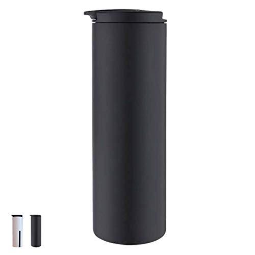 Boccetta Per Vuoto In Acciaio Inossidabile BWBZ 304 Tazza Per Caffè In Acciaio Inossidabile Coperchio Flip 180 ° A Rotazione Libera Antibatterico E Antivegetativo Non È Facile Da Allevare B