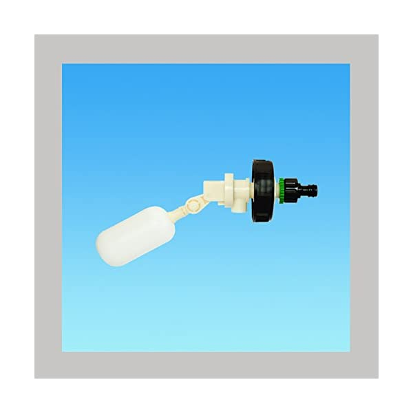 Caravan / Motorhome Mains Water Adapter Valve for use with 40L Aquaroll, Aquarius or Roly Poly - (BWV)