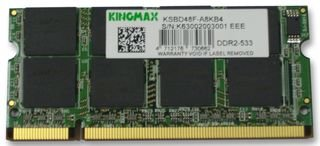 MEMORY,2GB,SODIMM,DDR2,PC4200 KVR533D2S4/2G By Best Price Square -