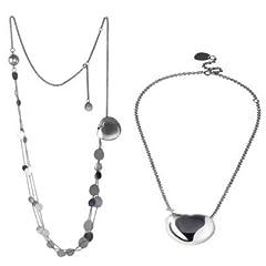 Idea Regalo - Breil TJ0805 - Catenina con pendente da donna, acciaio inossidabile, 90 cm