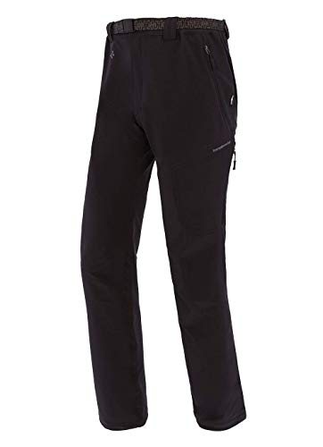 Trangoworld pc008098 – 210-xlc Pantalon Long, Homme, Noir/Gris (Anthracite), XL