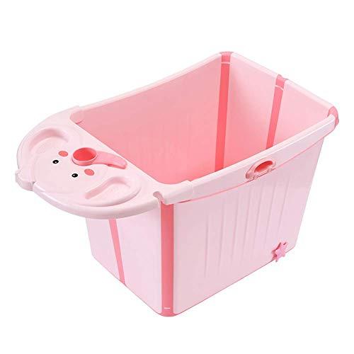 Bañera Para Niños Bañera De Plástico Plegable Para Niños Lindo Elefante De...