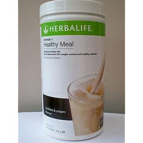 Herbalife Formula 1Pasto sano nutrizionali Shake Mix Biscotti e Crema