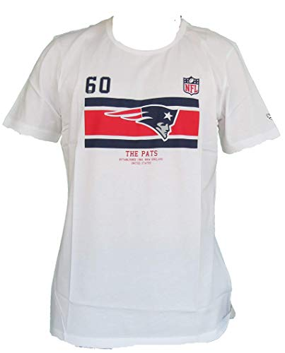 NFL - New England Patriots - T-Shirt | weiß XL