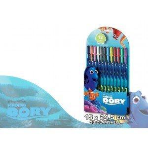 Kids Euroswan - Disney WD17212 Buscando a Dory - Blister 12 bolígrafos