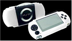 Exspect White Silicone Graphic Skin with Screen Protector (PSP) from Exspect