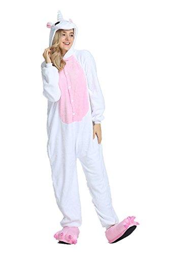 Preisvergleich Produktbild KiKa Monkey Flanell-Karikatur-Tier-Neuheit-Weihnachts Cosplay Pyjamas (M,  Pink-wing)