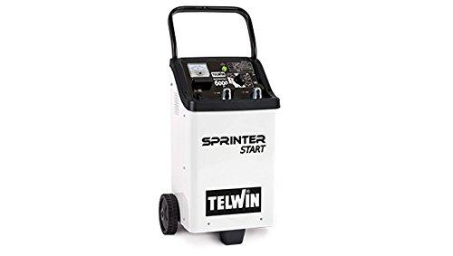 Telwin 829392 Model Sprinter 6000 Start Chargeur de Batteries, 320 mm x 380 mm x 780 mm