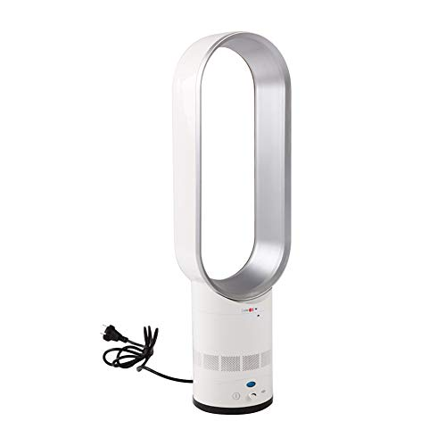 Luerme Elektrischer Blattloser Ventilator Fernbedienung Air Flow Cooling Cool Fan Home Portable Desktop Stumm Lüfter Haushaltsnegativ-stummes Ionenreinigungsventilator