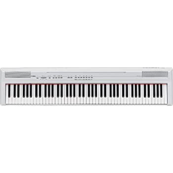 Yamaha P-105WH Digital Piano inkl. Netzteil (88-Tasten, GHS, AUX OUT, USB) weiß