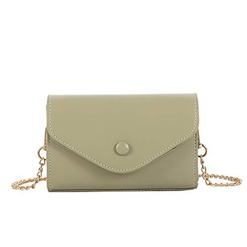 Mitlfuny handbemalte Ledertasche, Schultertasche, Geschenk, Handgefertigte Tasche,Frauen-Spassvogel eine Schulter geschlungene Art- und Weiseverriegelungskette Kleine quadratische Tasche -