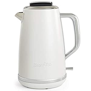 Breville Lustra Electric Kettle   1.7 L   3kW Fast Boil   Matt White [VKT174]