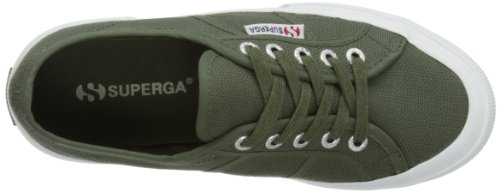 Superga 2750 Cotu Classic, Baskets mixte adulte Verde (Green (Sherwood))