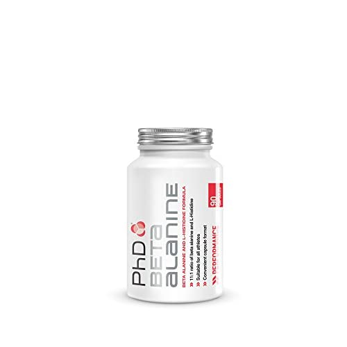 PhD Nutrition Beta Alanine & L-Histidine Supplement | Delays Muscle Fatigue & Supports Athletic...