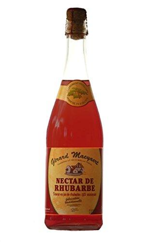 Maeyaert - Nectar de Rhubarbe pétillant sans alcool (6 X 75 Cl)