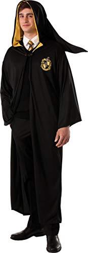 Potter Robe Kostüm Harry Ohne - Original Lizenz Harry Potter Robe Hufflepuff für Erwachsene - Größe M-L (Uni)