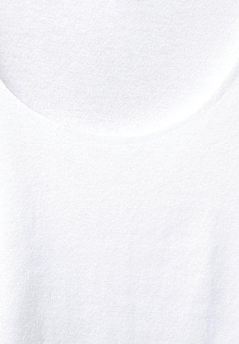 Street One Damen Langarmshirt white (weiss)
