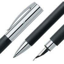 Faber Castell Ambition Füllfederhalter EF und Kugelschreiber B im Set schwarz