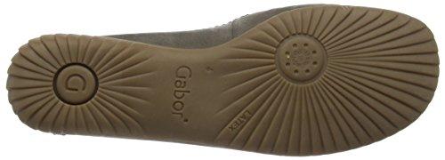 GaborSharona - Mocassini donna Marrone (Brown (Brown Nubuck/Metallic Leather Trim/Heel Counter))