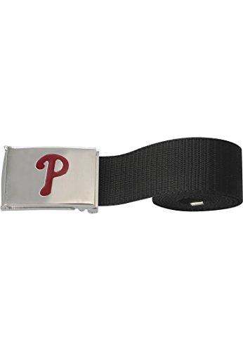 MLB Herren Accessoires / Gürtel Baseball Boston Sox Woven Single Pp Black