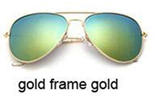 Lunettes,Lunettes de soleil,Klassische Polarisierte Sunglasses Women Fahrspiegel Eyewear Neue Pilot Sunglasses Uv400