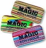 MAGIC Radiergummi von Koh-I-Noor - 3 Stück - 6516 -