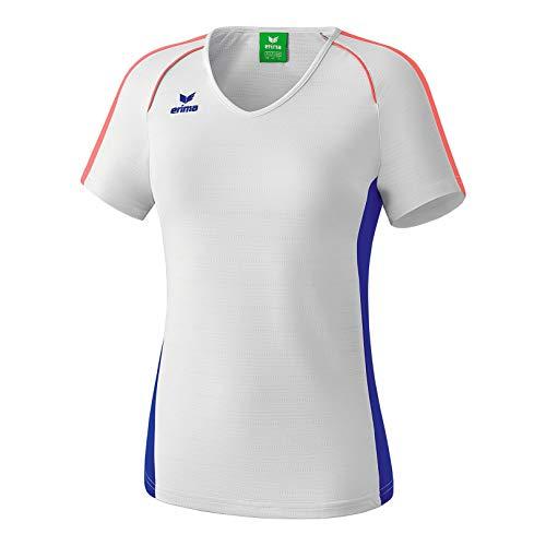 Erima Damen Masters T-Shirt - weiß Mazarine Blue, 38