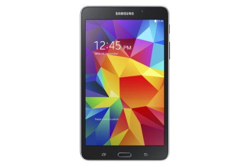 Samsung Galaxy T230 17,8 cm (7 Zoll) Tab 4 Wi-Fi (1,2GHz Quad-Core, 3 Megapixel Kamera, 8GB interner Speicher, Bluetooth 4.0, Android 4.4.2, EU-Stecker) schwarz (Samsung Tab Griff 2 Galaxy)