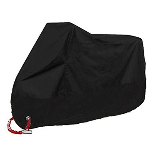 WGE Motoren Fahrrad Motorradabdeckungen Staub wasserdicht Outdoor Indoor Regen UV-Schutz Abdeckung Mantel für Fahrrad Roller,5,M