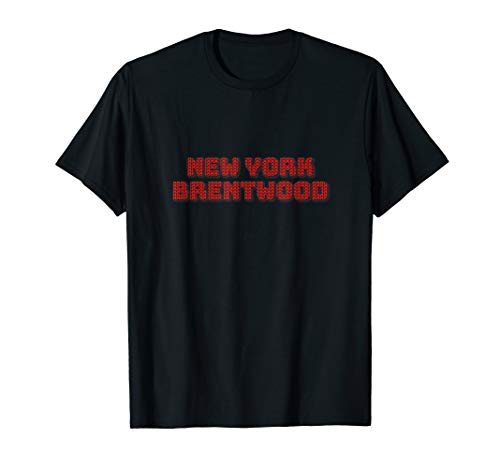 Knitting Style NEW YORK BRENTWOOD Unique Tee Best Gift  T-Shirt