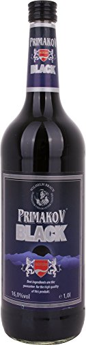 Primakov Licor de Vodka Negro - 1000 ml
