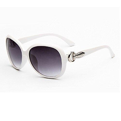 O-C da donna Classico & Fashion WAYFARER occhiali da sole lente 58mm di larghezza bianco White - Nuovo Cartier Occhiali Da Sole
