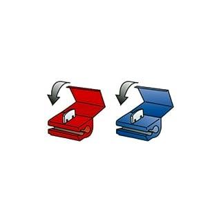 Akhan 45050 - Schnellklemmer Stromdiebe schnell Verbindung 0,5-2,5mm - Rot / Blau
