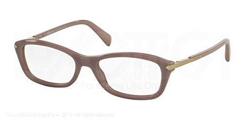 Prada Montures de lunettes 04P Pour Femme Black, 52mm TKP-1O1: Opal Pink / Pink