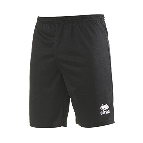 MAXI SKIN AD Trainingshose (knielang) von Erreà · ERWACHSENE Herren Damen Trainingsshorts (kurz) · REGULAR-FIT Bermuda Sporthose (komfortabel) für Teamsport · PERFORMANCE Running Sport Shorts (strapazierfähig) aus Polyester-Material · (Farbe schwarz, Größe 3XL)