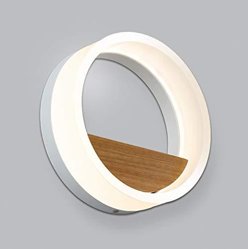 Wandleuchte Led Bianco Luce Decorativa Acrilica Lampada Da Comodino 12W Camera Da Letto Wc Servizi Igienici Luce 20 * 6.5 Cm