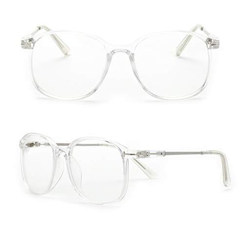 CADANIA Frauen Männer Optische Gläser Retro Großen Rahmen Cat Eye Brillen Wild Trend Computer Brillen Flachen Spiegel 4#