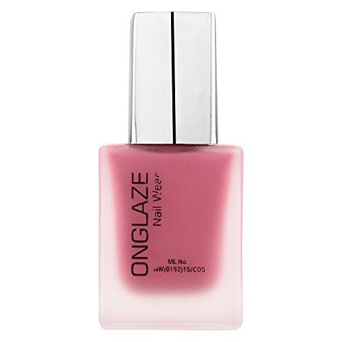 ONGLAZE Dull Pink Matte Nail Wear