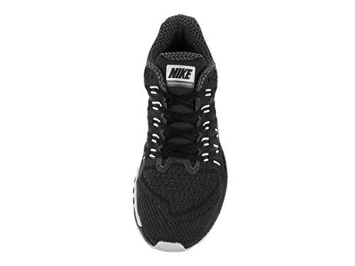 Nike Air Zoom Odyssey, Chaussures de Running Compétition Homme, Noir, Taille Noir / Blanc / Gris (Noir / Blanc-Loup Gris-Drk Gris)