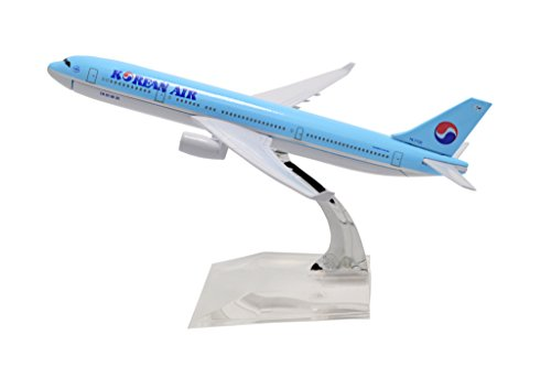 tang-dynastytm-1400-16cm-air-bus-a330-korean-air-metal-airplane-model-plane-toy-plane-model