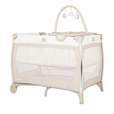 Mothercare Travel Cot Bassinet, Teddys Toy Box
