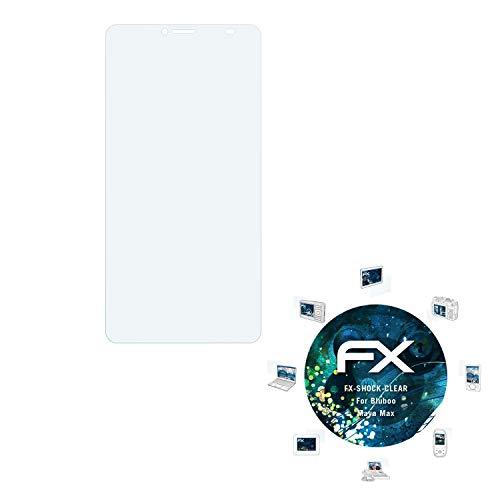 atFolix Schutzfolie kompatibel mit Bluboo Maya Max Panzerfolie, ultraklare & stoßdämpfende FX Folie (3X)