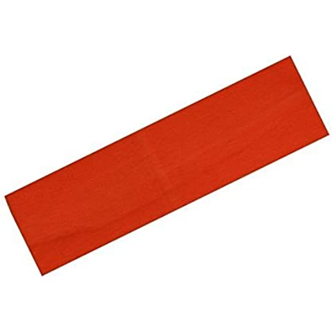 Yoga Soft Stretch Cotton Headband Small - Red by HTER
