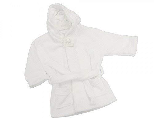 Bébé blanc peignoir de bain Corail en polaire - 18/23 mois