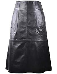 c0634c94cd Amazon.es  piel - Faldas   Mujer  Ropa