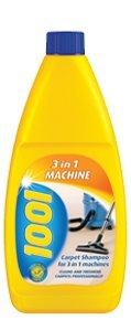 1001 3 in 1 Machine Carpet Shampoo 500ml 448285