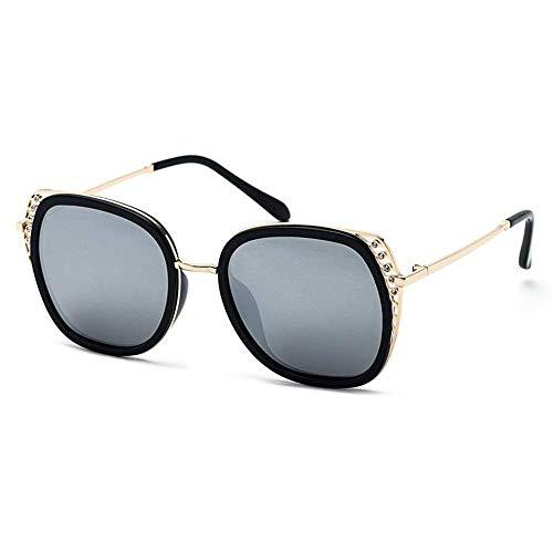 XHCP Frauen Polarized Classic Aviator Sonnenbrille, 5 Farben Frauen Cat Eye Sommer Sonnenbrille Männer Polarized Sport Sonnenbrille Outdoor Driving Travel Brille (Farbe: Silber, Größe: Kostenlos)