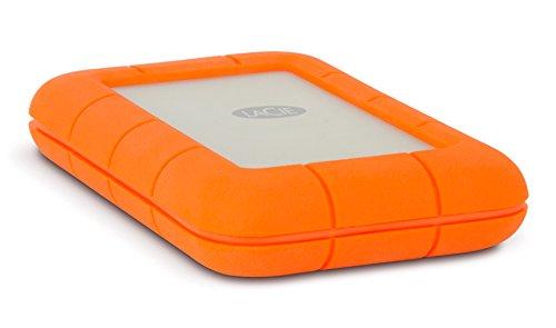 LaCie Rugged - Disco duro externo portátil para Mac y PC 2 TB (Thunderbolt + USB 3.0, 2.5' )