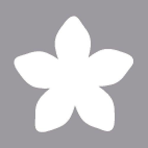 Rayher Motivstanzer Blüte ø 3,81cm, 1,5 Zoll, geeignet für Papier/Karton bis zu 200g/m²